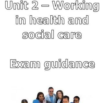Unit 2 - exam guidance booklet