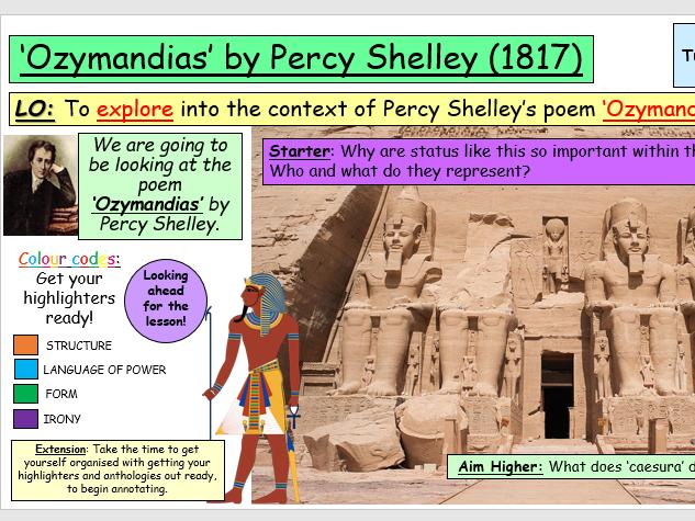 Ozymandias by Percy Shelley