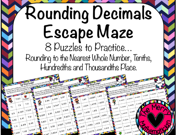 Rounding Escape Mazes for Decimal Values