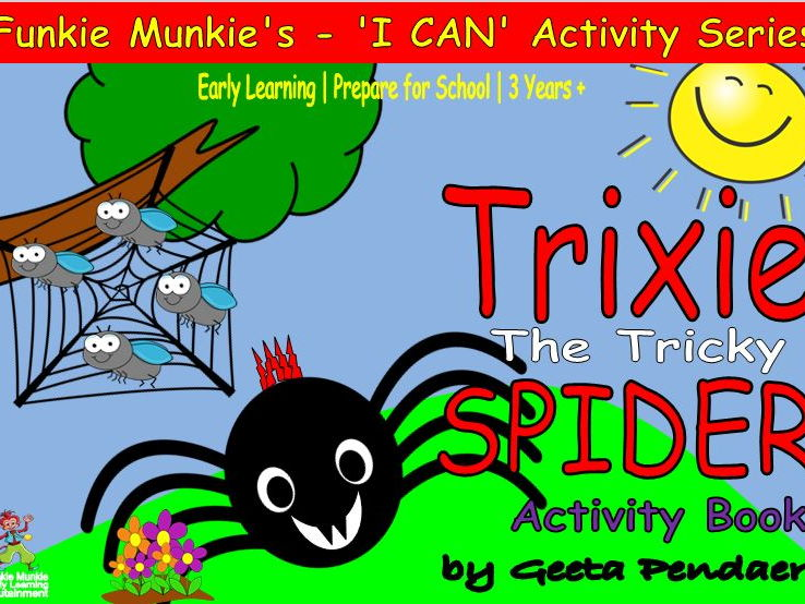 Trixie, The Tricky Spider - Activity Book