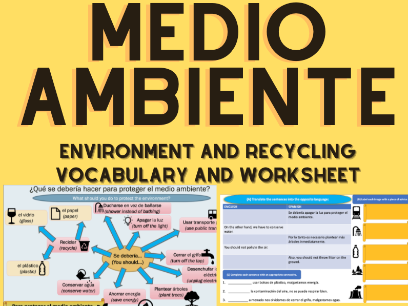 Spanish Environment Knowledge Organiser