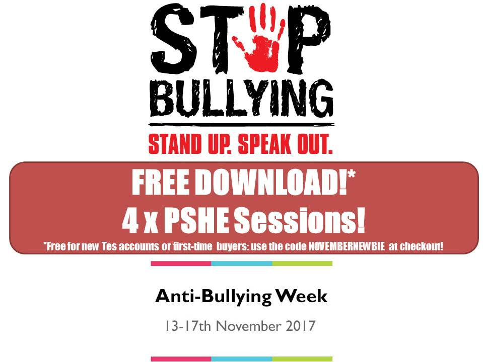 Anti-Bullying Pack!