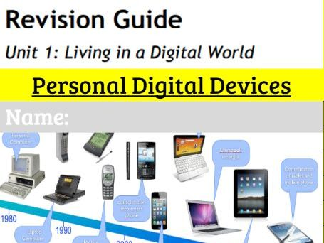 GCSE ICT Revision workbook 1: Personal Digital Devices