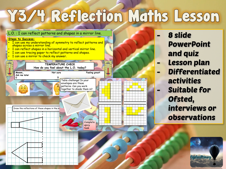 Outstanding Y3/4 Maths Reflection Interview Lesson