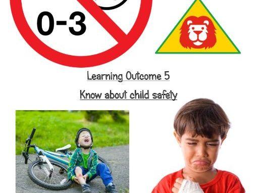 Ro18 LO5 student workbook- Child development, OCR cambridge nationals