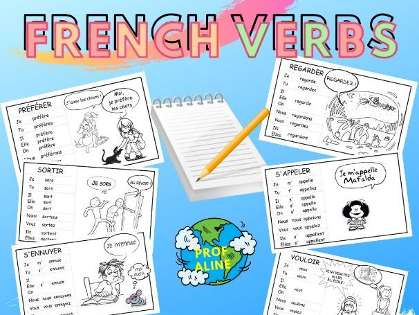 French Verbs at the Present Tense
