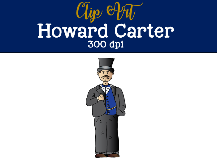 Howard Carter Clip art