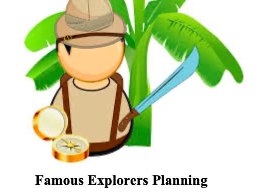 Explorers Planning KS2