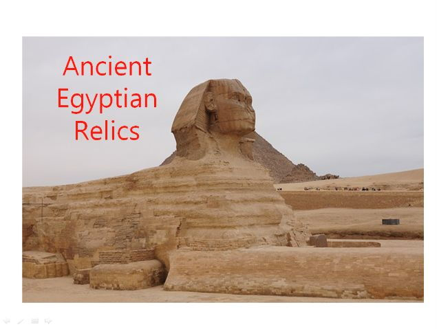 60 Photos of Ancient Egypt Relics - PowerPoint + Colouring Book + 31 Different Teaching Activities