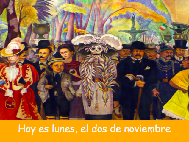 El Día de los muertos (remote and in-person teaching)