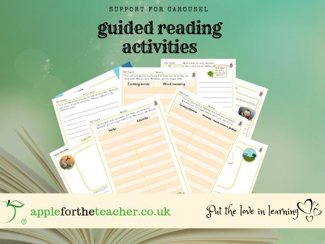 Guided Reading Carousel Activities Year 2/Year 3