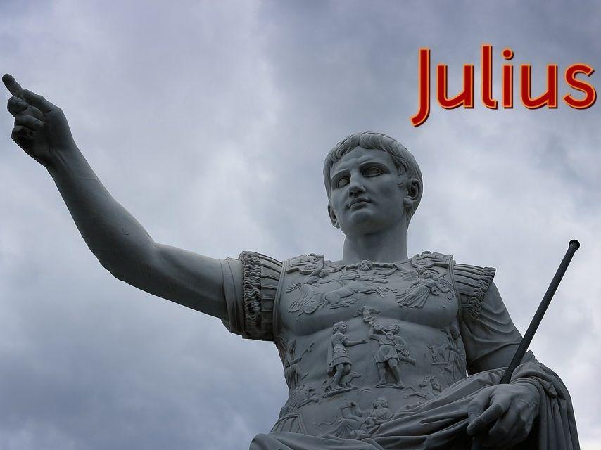 Julius Caesar Song and Worksheet