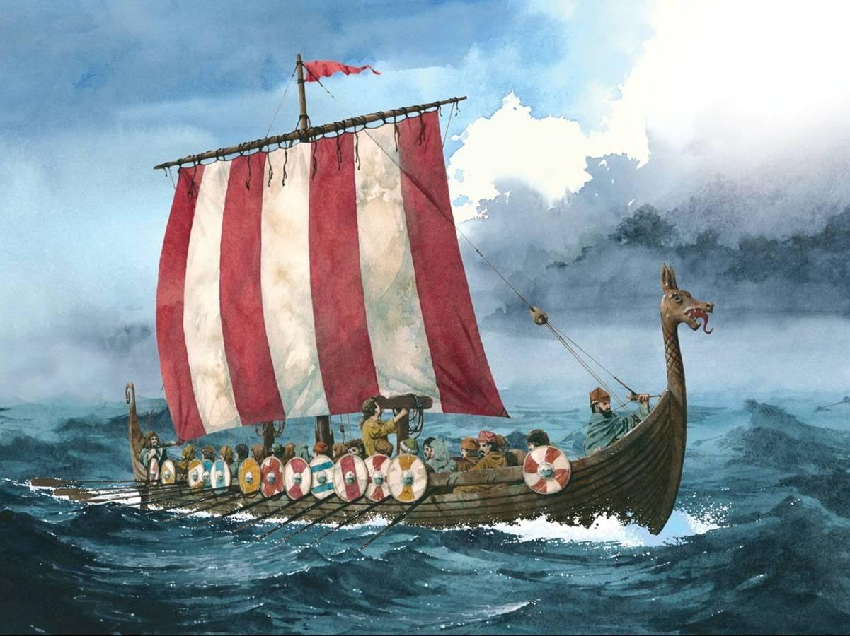 Viking themed history and geography activity sheets KS2