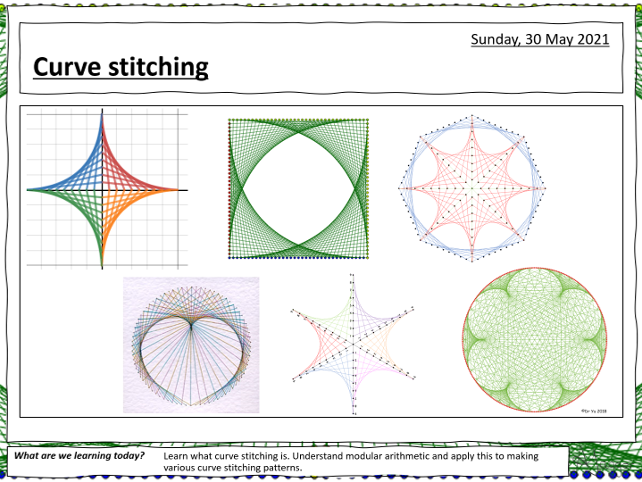 Curve Stitching