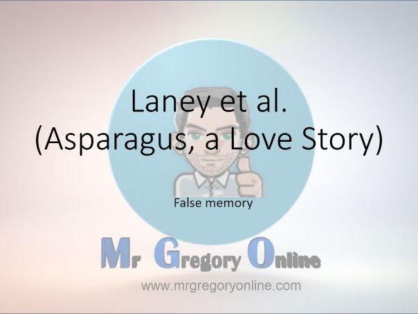 PowerPoint for Laney et al. (false memory)