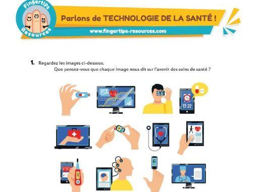 Parlons de TECHNOLOGIE DE LA SANTÉ !