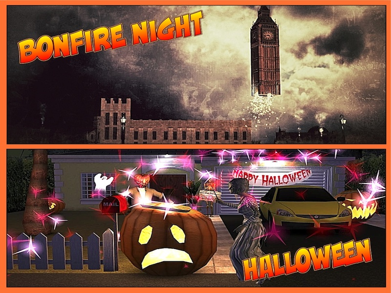 Autumn Celebrations - Halloween and Bonfire Night Multimedia Resource Pack