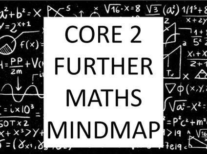 A Level Core 2 Further Maths Mindmap - Edexcel