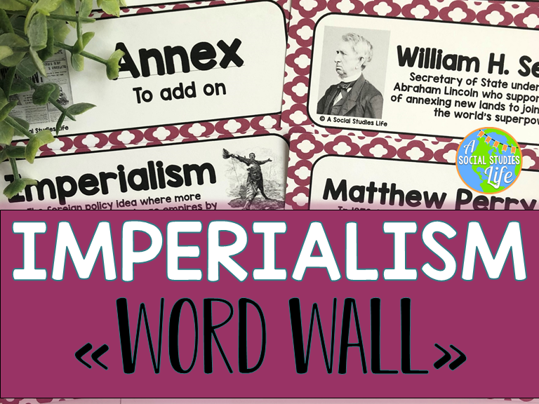 Imperialism Word Wall