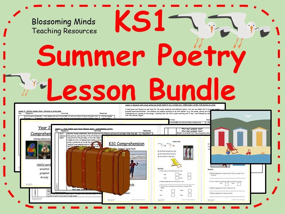 KS1 Summer Poetry - 3 units (11 days)