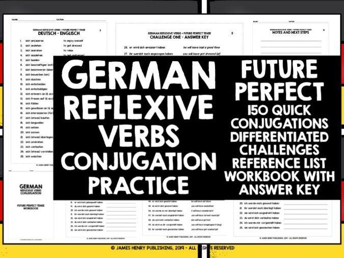 GERMAN REFLEXIVE VERBS CONJUGATION 7
