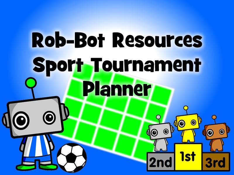 Excel Sport Tournament Planner