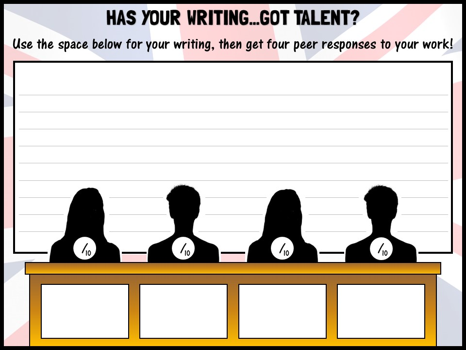 Has your writing...Got Talent?