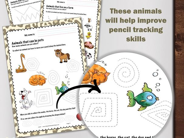 Animal Handwriting Workbook
