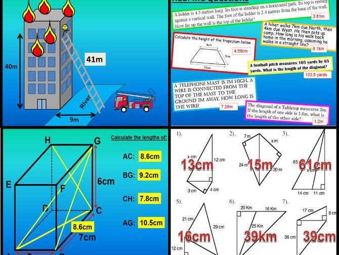 All Pythagoras lessons