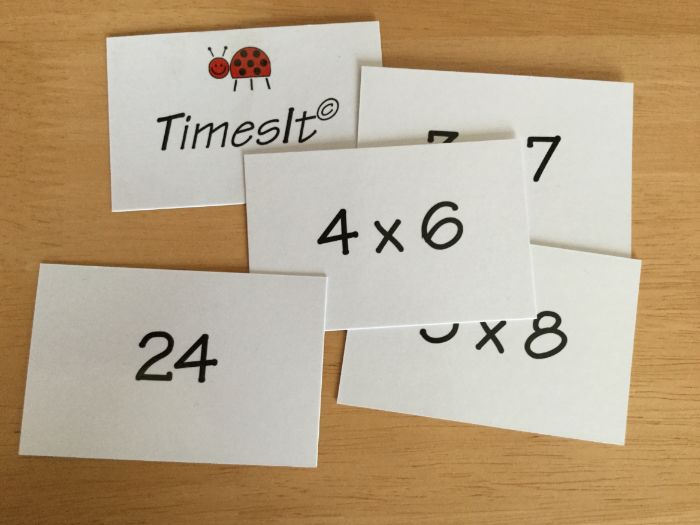 'TimesIt' activity for a group of KS2 children to memorise multiplication facts. SATs revision!