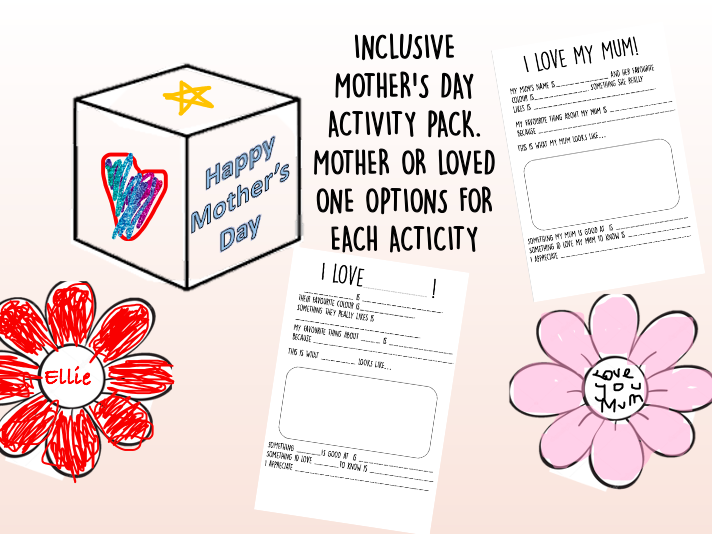 Mother's Day \ Loved one's activity pack