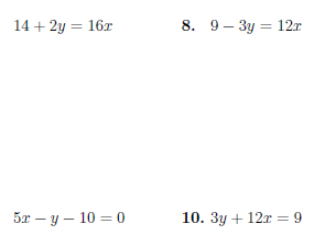 Writing linear equations in slope-intercept form worksheet (with solutions)