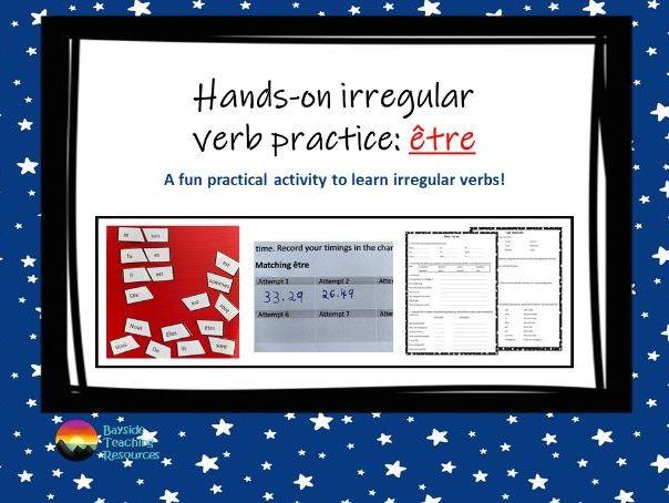 Être - practical verb practice