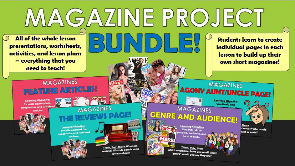 Magazine Project Bundle!