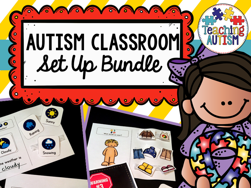 Special Education / Autism Classroom Set Up Pack