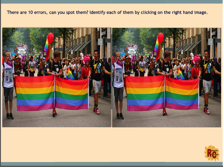 Interactive Puzzles to Celebrate LGBT Month