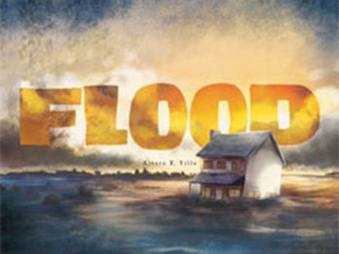 Flood by Alvaro F. Villa Scanned Book