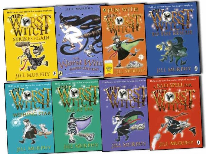 The Worst Witch Reading Comprehensions for Every Chapter