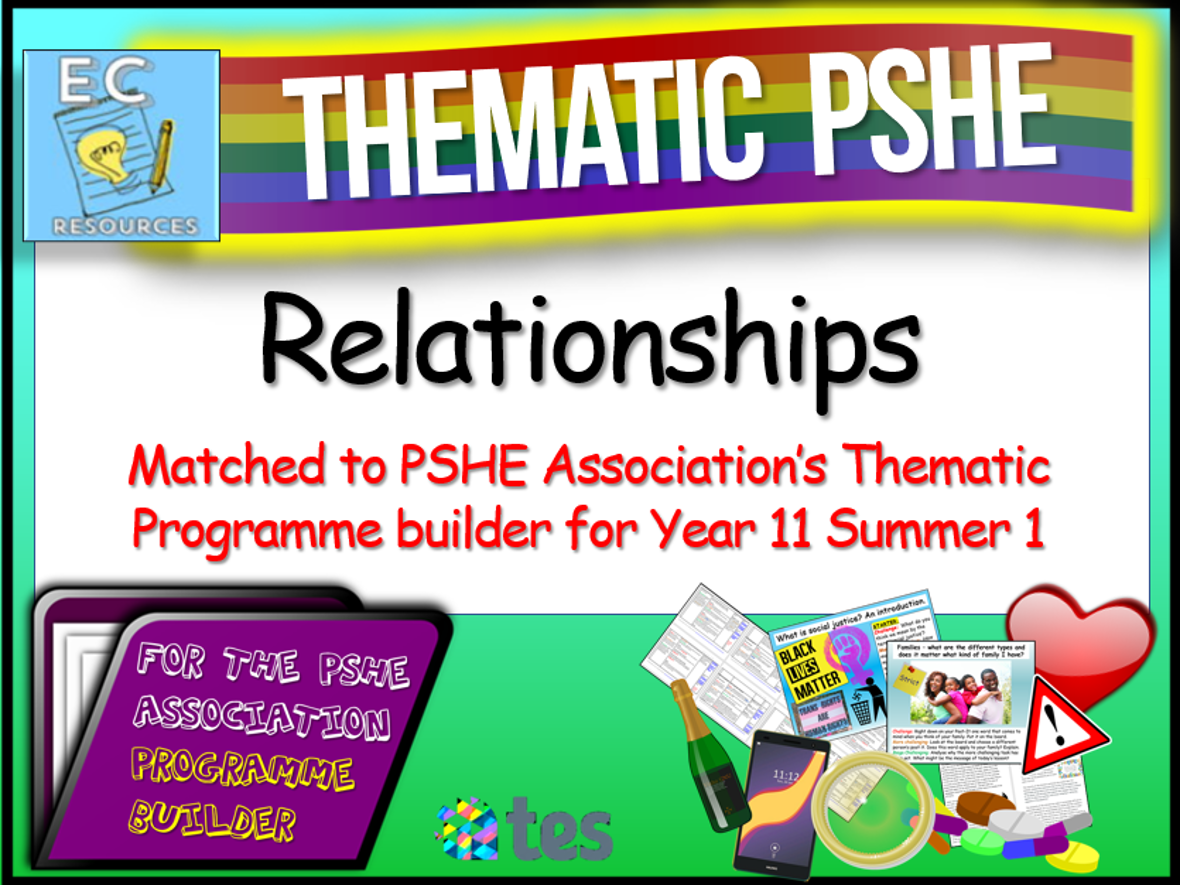 Thematic PSHE - Relationships