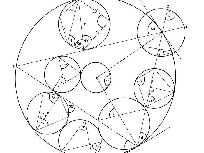 Circle Theorems Revision Exercise #10