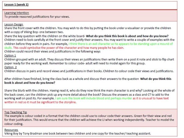 Viking Boy English Scheme of Work Upper KS2 Complete Narrative Writing Unit