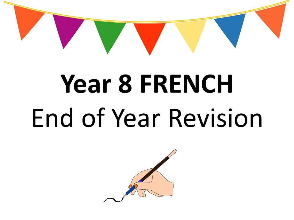 Year 8 End of Year Revision