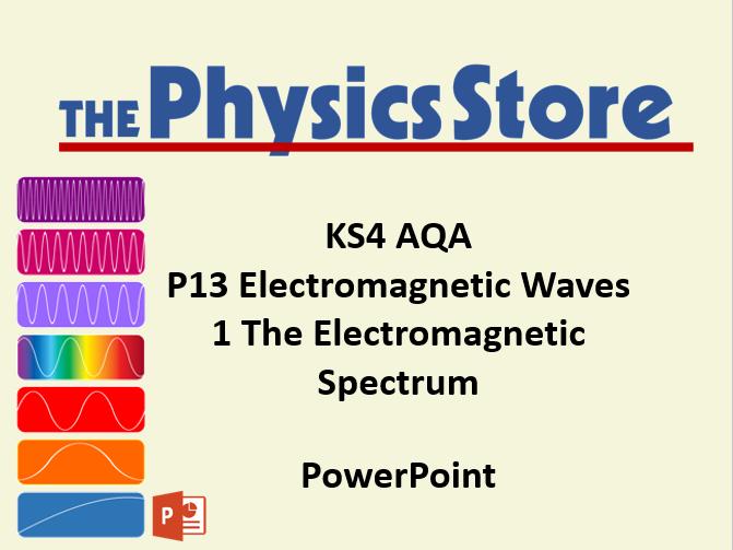 KS4 Physics AQA P13 1 The Electromagnetic Spectrum PowerPoint