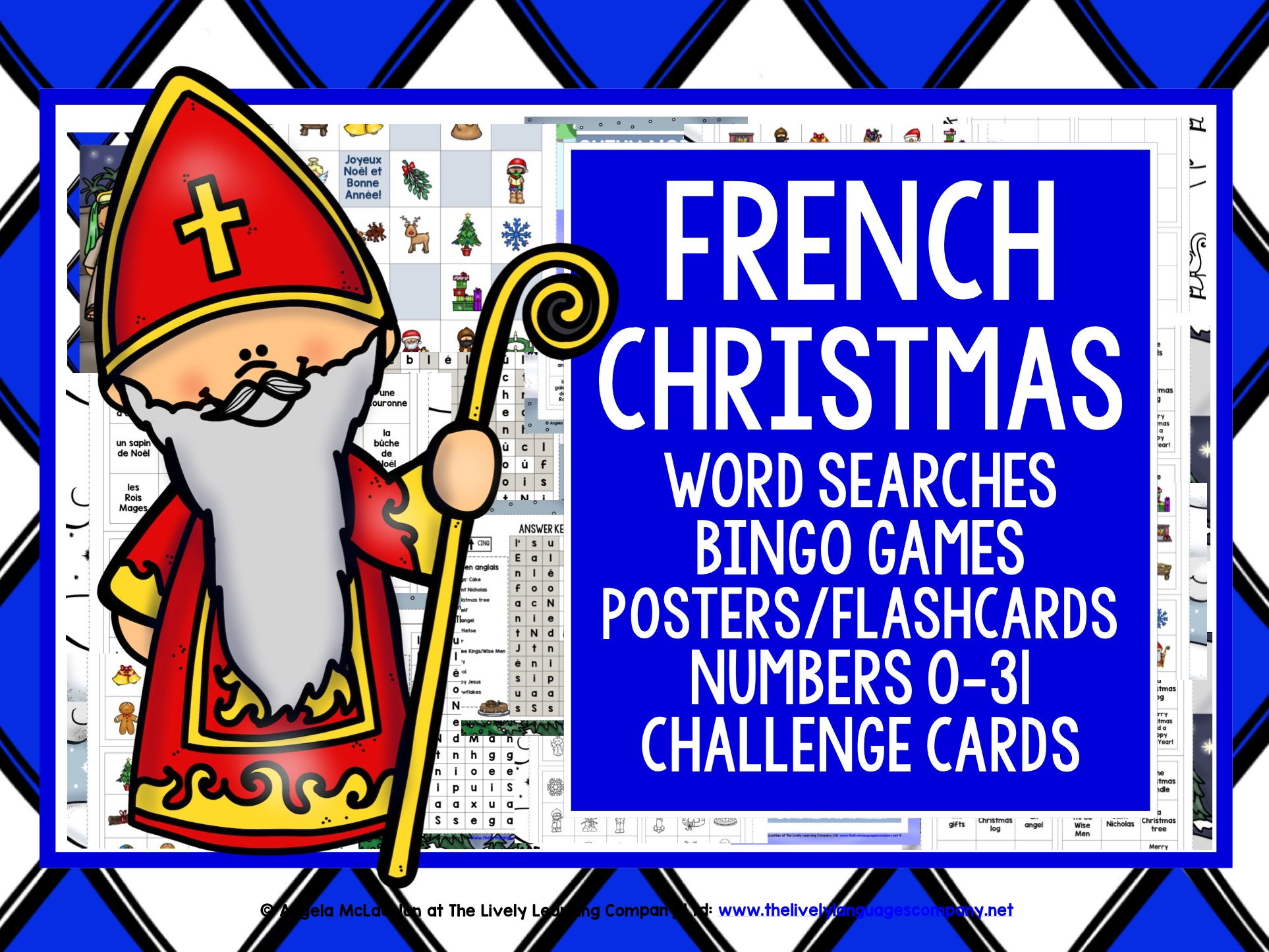 FRENCH CHRISTMAS BUNDLE #1