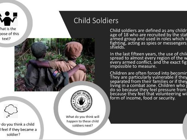 Intro to Child Soldiers
