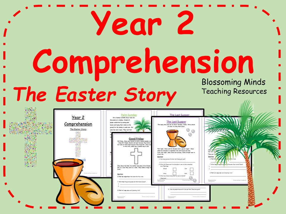 Year 2 Easter Story Reading Comprehension (Holy Week) by ...