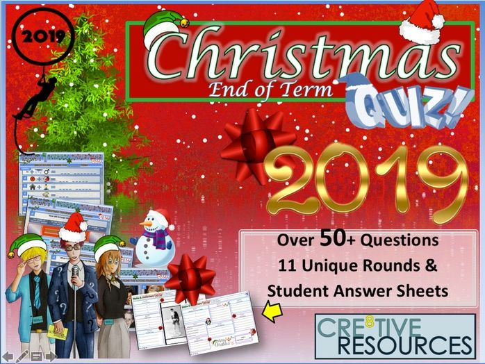 End of Term Christmas Quiz 2019