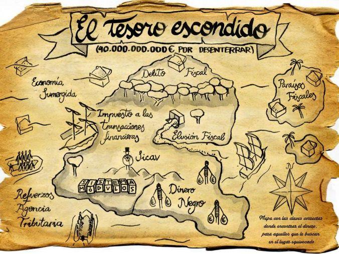 Treasure hunt- Spanish KS2 or KS3