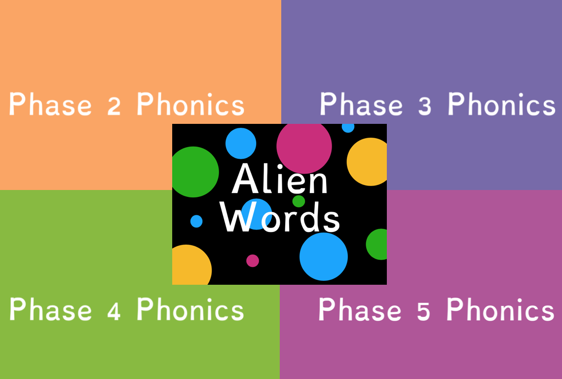 Phase 2- 5 and Alien Words