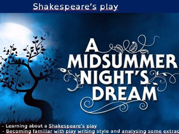 Act 2 Scene 2 + Act 3 Scene 1  A Midsummer Night's Dream - The Misunderstanding